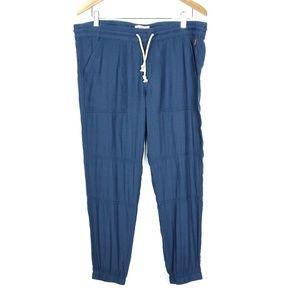 Burton Navy Blue Drawstring Minimalist Joy Pants